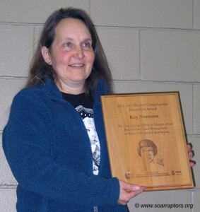 Kay receives award