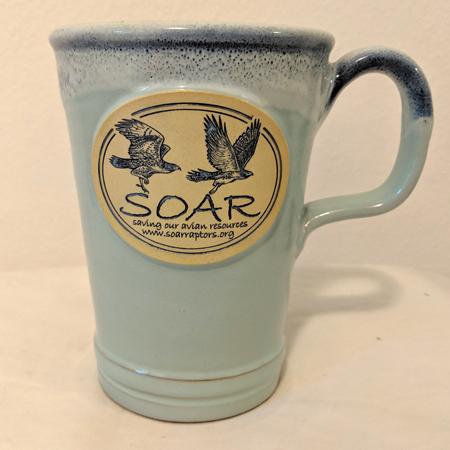 Aqua commuter mug