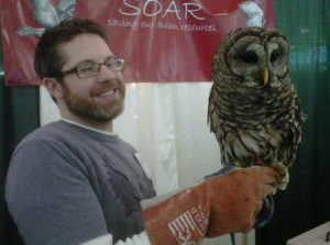 Matt and barred owl